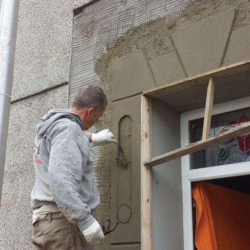 Pauls-Plastering-Llanelli-During Coin Work