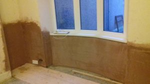 Completed project dry rot llanelli