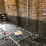 Damp Proofing Llanelli Loughor Pauls Plastering Before