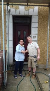 Pauls Plastering - Another Very Satisfied Customer