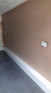 Pauls Plastering - job 5 April 18